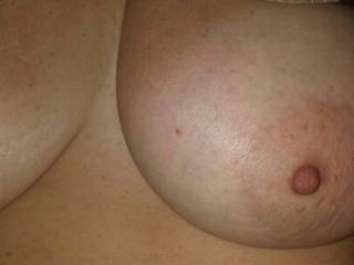 You have to love these.  Such a big set of tits on a beautiful woman.  Do you want to see more?
