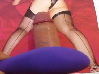 Tribute cum video for xx38, you have such a hot body