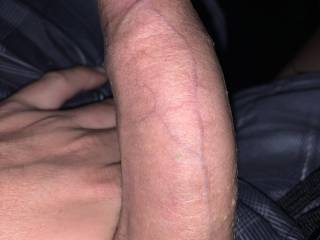 Cock shot for an ex