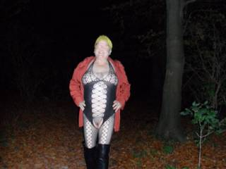 Hi all at the end of a fun evening I like to take a slow walk back to the car, it is such a turn on seeing the cars whizzing by through the trees knowing I am almost naked just a few feet away. dirty comments welcome mature couple