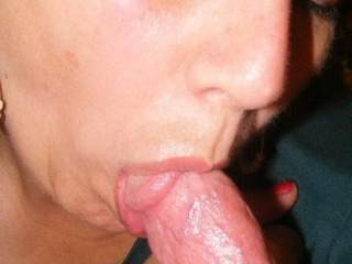 mmmm yeah love to fuck your sexy warm mouth and have your tongue danceing on my knob till you get your creamy treat