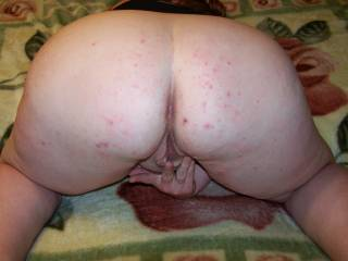 oh yes  the view is awesome ass up wet pussy  mmmmmmm  can i tatse and fill that pussy doggie style?