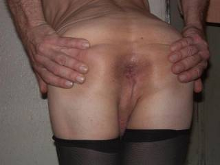 my ass pussy wide open