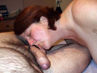 thats one very thick cock...bet she loves it