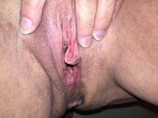 I'd enjoy putting my tongue in that hot pussy of yours. Looks so tasty!!!