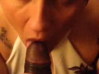 sucking a black dick