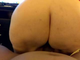 awesome 53\' ass riding my cock!!!