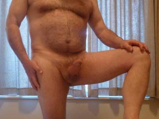 Hot sexy hairy body... I would love to suck and ride that hard cock of yours