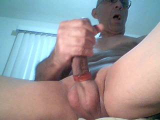 Very nice cock. I love the size and shape, especially that cockhead of yours. You could fuck me anytime.