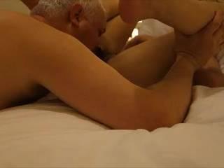 making my wife cum