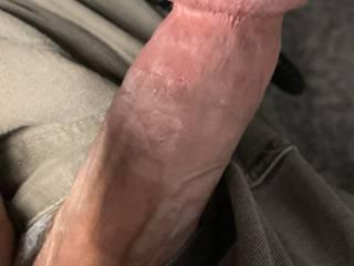 Horny again at work wish I had lips on me
