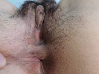 My excited pussy and my tight asshole...which one attracts you most?