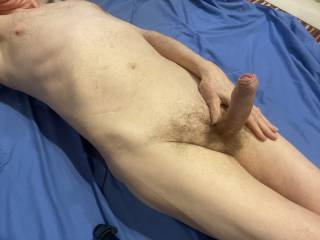 I can\'t wait to feel your lips brush across my foreskin and the ease my foreskin back as you slide down onto \'Him\'.