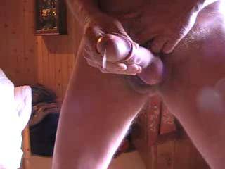 wonderful cum shot out of great cock, i playd the spurt over n over n over again.i wonder how many others did too??