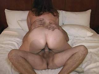 beautiful seeing a wife riding another dick