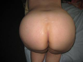 Nice big ass and a big load.  My ass is next?