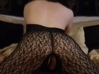 a quick pussy rub and flash to get interest