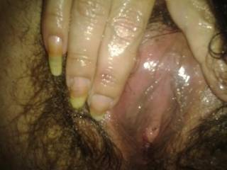 Mmmmmmmmmmm no that is one wet pussy  Wish I was there so I could be licking those juices from your wet warm pussy as you cum again and again.  yummie I can taste your juices already  :)))