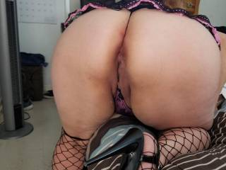 I like showing my ass!