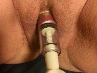 It came in a set of 3. One for each nipple and one for the clit. Lubed up flesh allows easy continuous suction entry with micro adjustment for the perfect edge of present limits. A little twist now and then is all that is required to keep upping the fun.