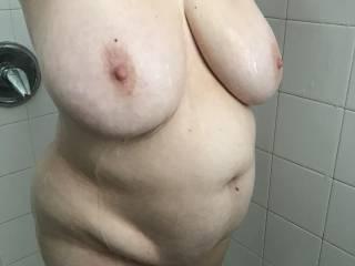 Her tits look so huge here