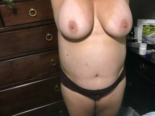 her tits are begging for your cock