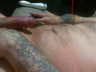 Jerking off watching my ex dildo her sweet pussy.