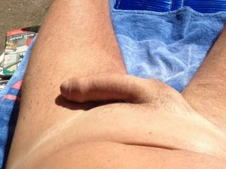 your cock will never get any sun as long as im sucking it...