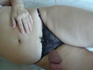 masturbating with wife