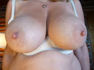 My Gfs big tits fresh out of her bra