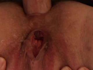 Kiki taking my fat cock in her little asshole. Sorry it's so short but I had to put the camera down and just enjoy giving her little asshole a good workout. Any ladies want to suck on her clit and fuck her pussy with a big dildo while I fuck her asshole