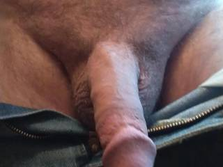 No underwear here. Do I need to shave my pubes? Been many years since I was shaved smooth. Let me know what you think.