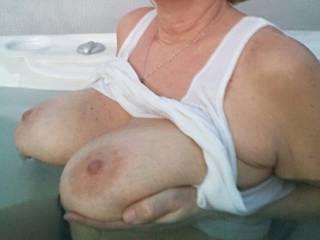 Seem like I\'m always showing off my boobs  !