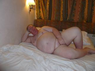 I'm bi-curious and I'd love to cuddle with you and your wife and have good sex with both of you mmmmmmmmmmmmmm you both have a lovely belly, she has beautiful titties too, you guys are very sexy!!