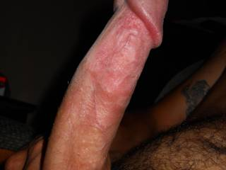 Mmmm.... I want to taste your pre-cum, then taek your total length down my throat!