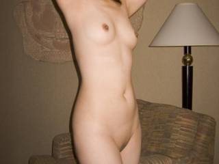 This is first nude picture I ever took and it is my favorite. Do you like it?
