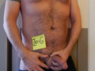 Mmmmm sexy man ..I would slip them off and  play with that fine cock and sexy chest..mmmmm