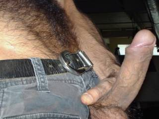 My mouth would be on that like white on rice Luv it You are one hairy man  MMmmmm Like to see a full body nude