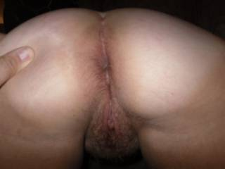 That sweet hairy pussy looks so good. I'd love to play.