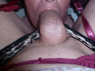 Fuck yes.  Id love to feed my cock into your girls hungry mouth, hearing her moans as she sucks me in😘😘