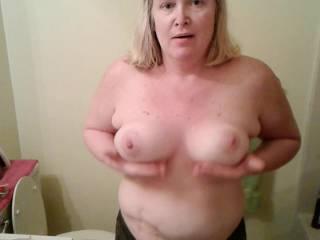 God u gotta love floppy tits they bounce an shake real good