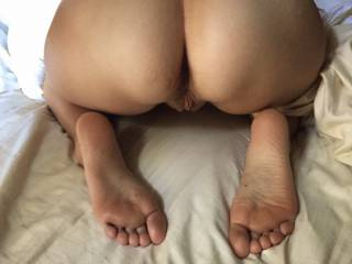 Massage my feet with your cock