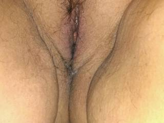 Just out of the shower and shaved. Tell us what you would do to this pussy. Don\'t be shy guy\'s and girls.