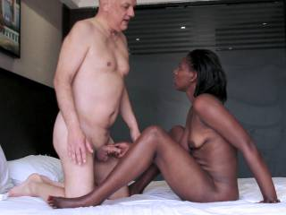 Enjoy some pics from a recent porn action with pornstar Olivia and porn actor Cane