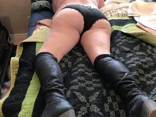 BBW wife ass