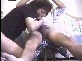 Cheatin MILF Erica doesnt get enough cock at home....watch her look at the camera as she sucks my dick...then climbs on to fuck on me. got a big one for her?