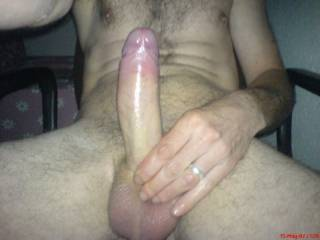 looking for a wet pussy or tight arsehole to slide down on my oily cock