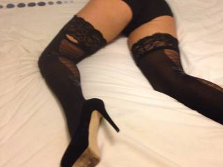 You have a fantastic pair of  legs and a very beautiful bum xx