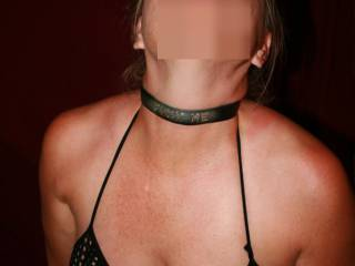 I love that collar!  Do you wear it out?  Those nipples look fantastic!