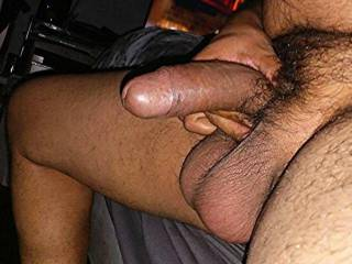Yes this my Cock And Balls this pic is not edited  in any way 😉